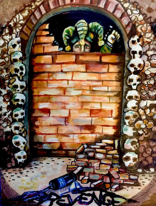 The Cask of Amontillado by Erica McCarrens